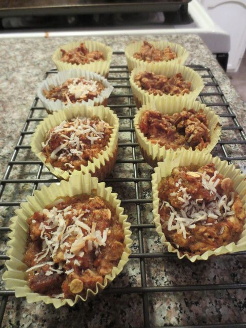 """The Best Thing That I've Baked So Far"" Morning Glory Almond Muffins"