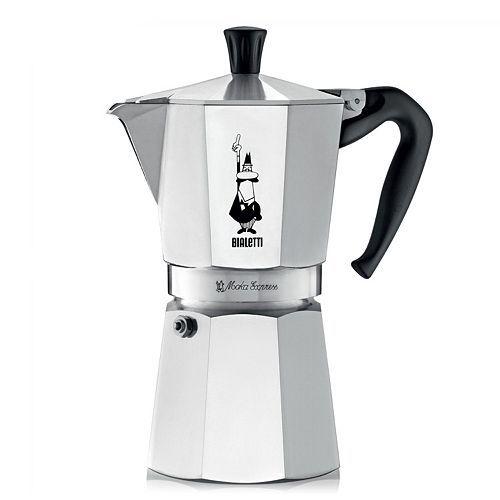 Bialetti Moka Express Stovetop 9-Cup Espresso Maker