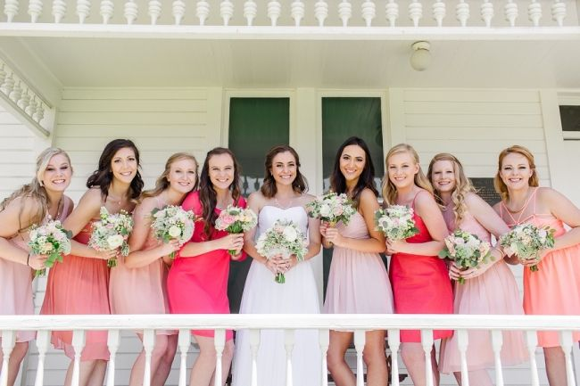 Real Wedding: Newland Barn Huntington Beach, CA Flowers By