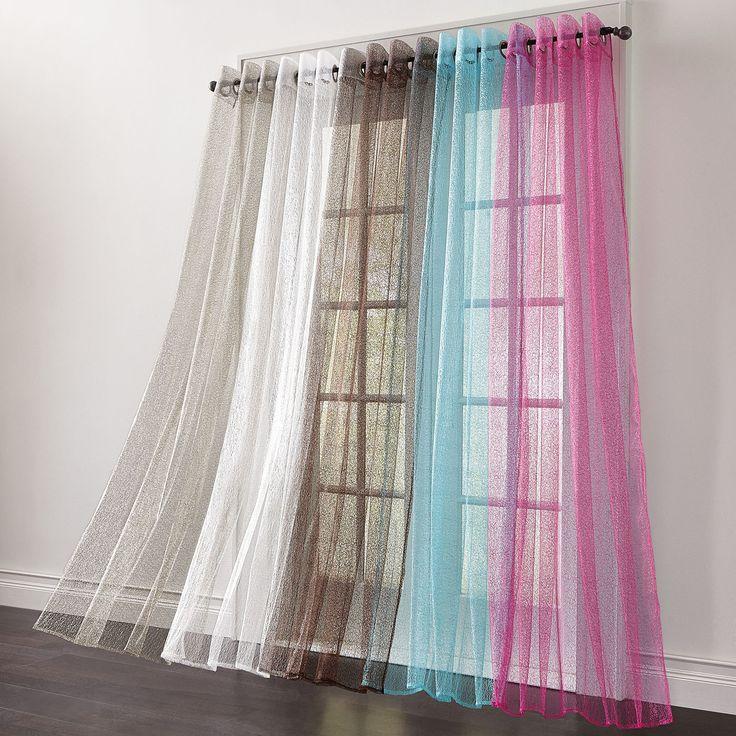 Superb Dreamspun Grommet Panel | Sheer Curtains | Brylanehome