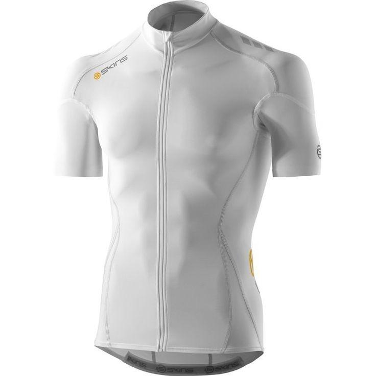 C400 Compression Short Sleeve Jersey Blanco | Triavip.com