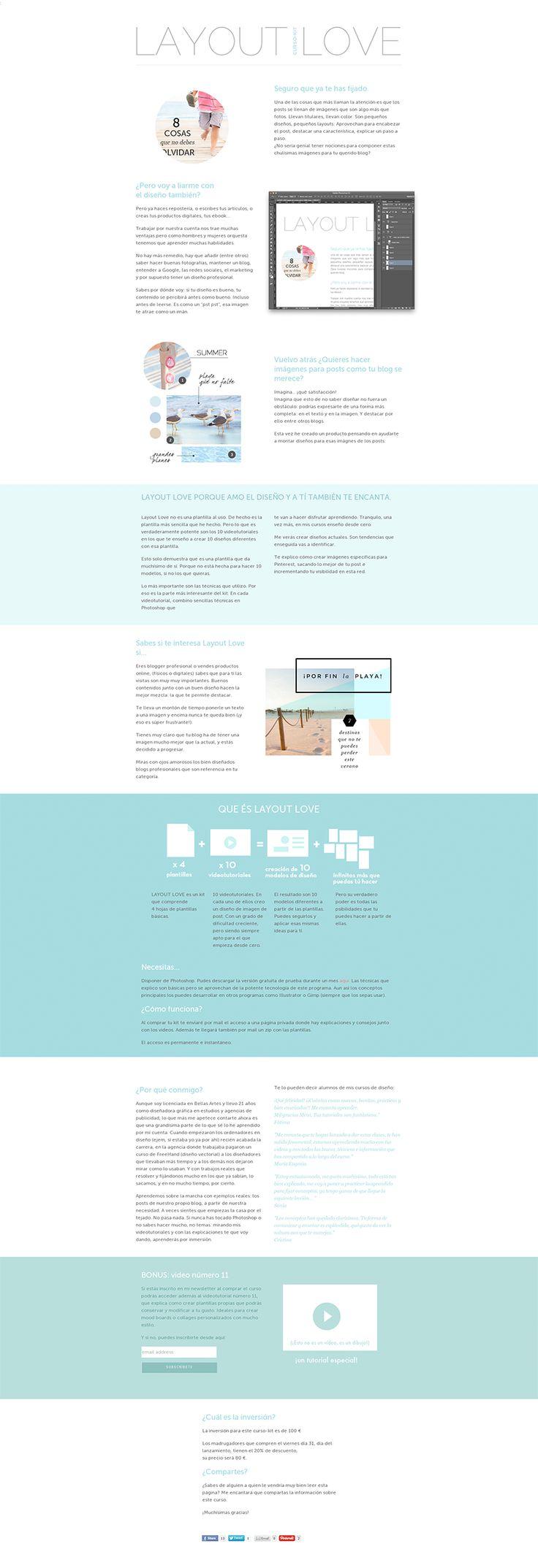 Layout Love, curso-kit de diseño de Imágenes para posts. #posts #diseñografico #blog #blogdessign #curso #cursoonline #kit #webdesign #layout