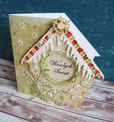 Vairatka Handmade: Świąteczny domek