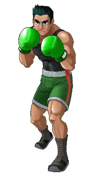 Little Mac Punch-Out Wii artwork