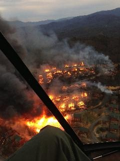 Fire Crews Battling Massive Fire in Pigeon Forge, Tenn. - KALB-TV News Channel 5 & CBS 2