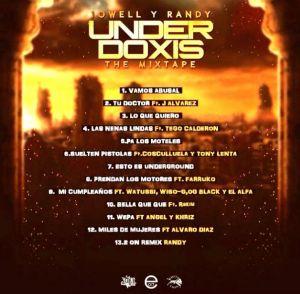 #JowellyRandy – #UnderDoxis (The Mixtape) (2014) via #FullPiso #Orlando #reggaeton #seo