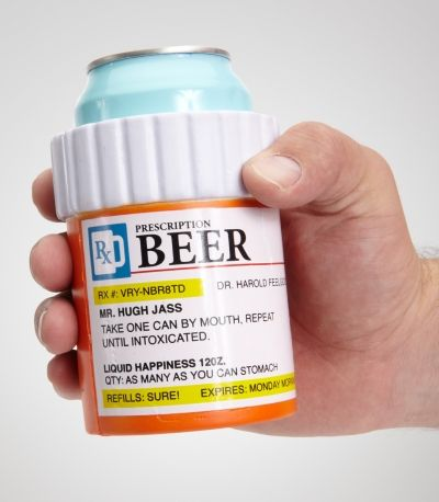 Prescription Bottle Koozie