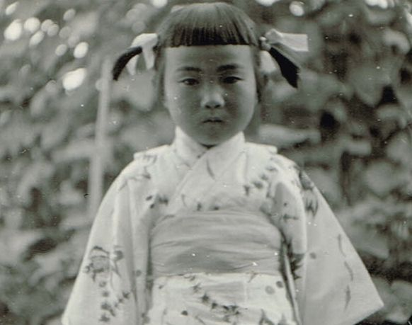 The Little Japanese Girl by The Nite Tripper on Flickr.Via Flickr: Here is an old photograph of a young Japanese girl that was taken sometime during the 1940's or 1950's. I recently scored a large old photo album and a huge stack of other loose photographs that had belonged to a Japanese family. The family was meticulous with writing annotations to accompany each photograph affixed in the album but since I cannot read Japanese, I don't know what is written. This was one of ...