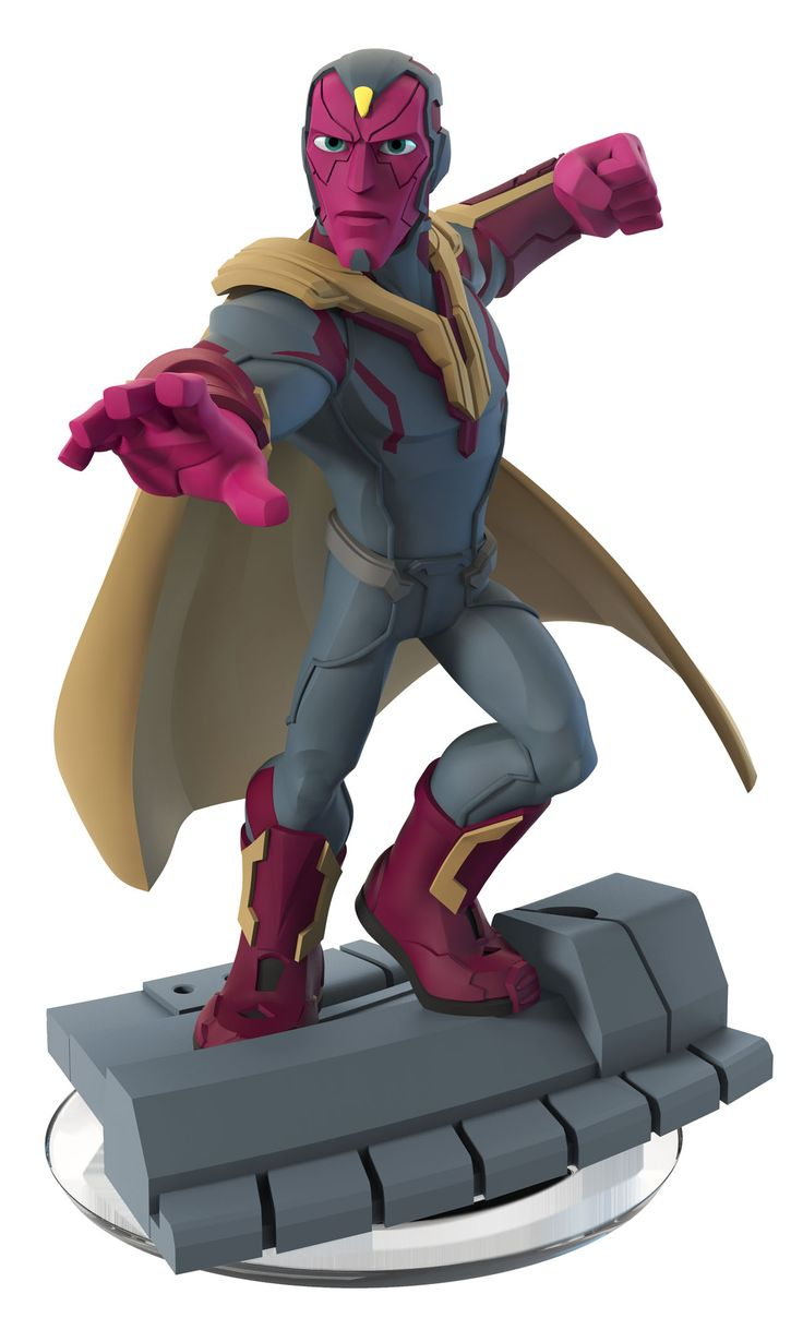 Vision Disney Infinity: Marvel Super Heroes (3.0 Edition) Figure - The brave and noble synthetic warrior fights alongside the Avengers to bring peace to the world. Requires Disney Infinity 3.0 Edition Starter Pack for PlayStation4, PlayStation3, Wii U, Xbox One or Xbox 360. Only compatible with the Disney Infinity: Marvel Super Heroes (3.0 Edition) video game.  #ldisneyart #disney