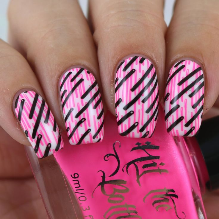 The Digit-al Dozen Does Stampin: Double Stamping by Olivia Jade Nails