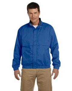 Devon & Jones Men's Clubhouse Jacket D850 TRUE ROYAL/NAVY
