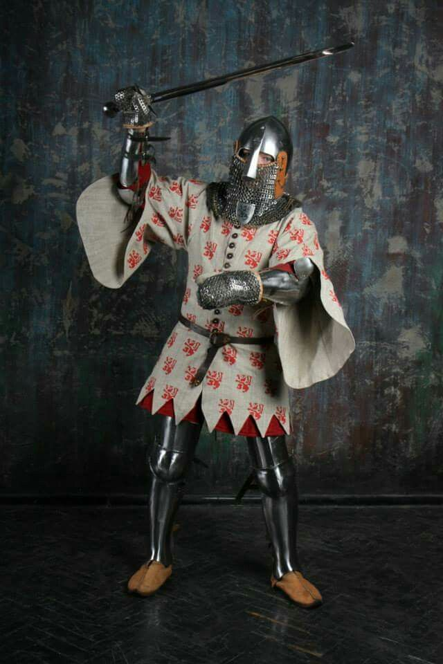Armour with Wappenrok 14th Century