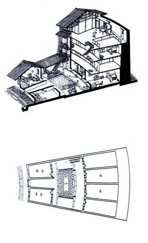 Ancient chinese house plan for Chinese house plans