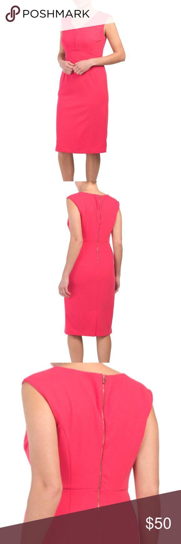 NWT Tahari Pink midi dress This Tahari dress is in mint condition – just didn'…