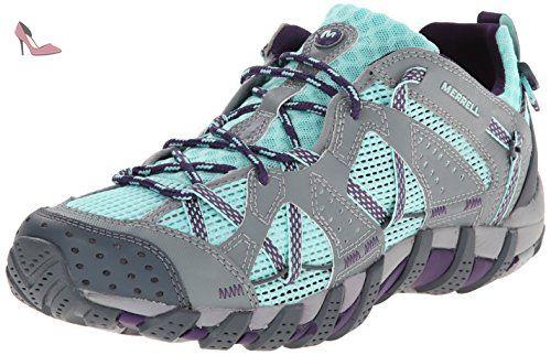 Merrell Waterpro Maipo, Chaussures de trail femme, Multicolore (Adventurine/Purple), 42.5 EU - Chaussures merrell (*Partner-Link)