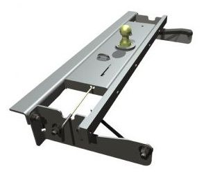 BW1012 --- B&W 30K Underbed Turnover Gooseneck Trailer Hitch - Chevy/GMC
