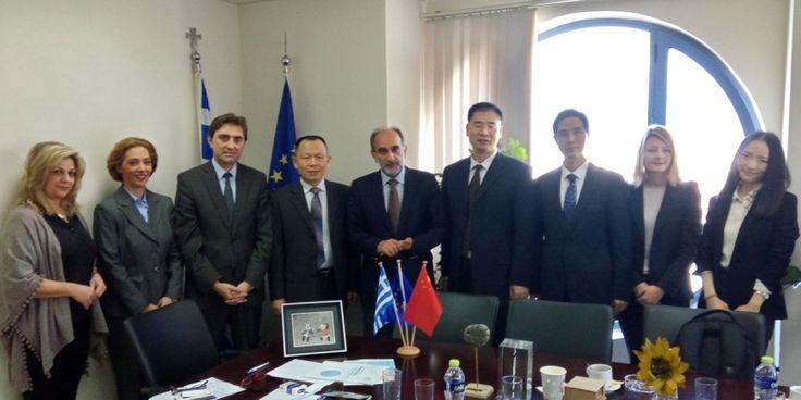 Κρουαζιέρα, τουρισμός, καινοτομία και βιομηχανία στη συνάντηση Απ. Κατσιφάρα με την κινέζικη αντιπροσωπεία