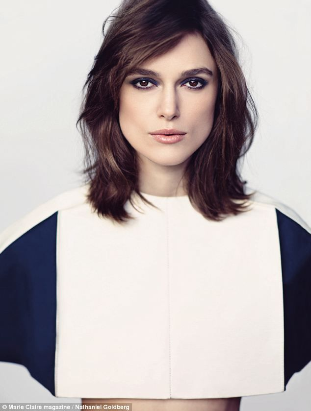The simple life: Keira Knightley tells Marie Claire that she will be having a low-key affair when she marries James Righton