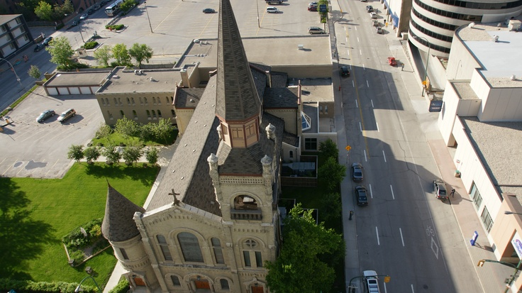 View from Delta Winnipeg: St Mary's Cathedral  #Winnipeg