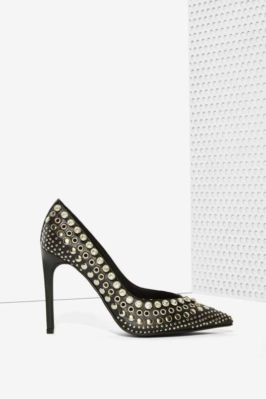 Jeffrey Campbell Luz Studded Pump