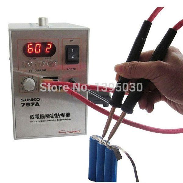 517.98$  Watch here - http://alitaq.worldwells.pw/go.php?t=32711182707 -  797A Micro-computer Single/Dual/16 Pulse Spot Welder welding machine for Battery