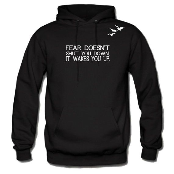 Divergent Hoodie Front Tris's Tatoo and Quotes_2_Stylehooded Sweatshirt-Inspired By Veronica Roth on Etsy, $29.00
