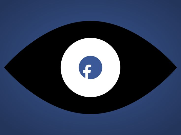 Facebook is watching you, comme Big Brother.