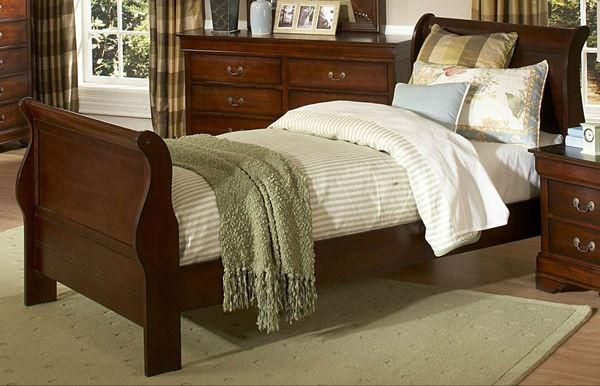 Chateau Brown Collection Twin Sleigh Bed 549t 1 For 284 The