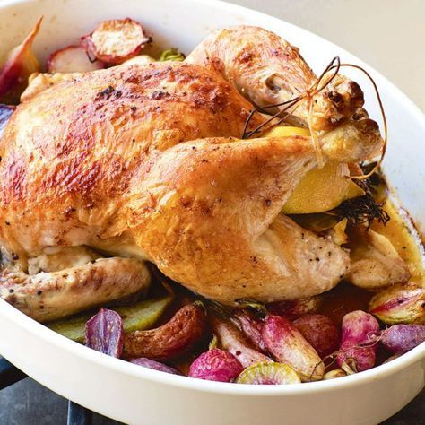 Chicken with Radishes - Barefoot Contessa, Cooking for Jeffrey