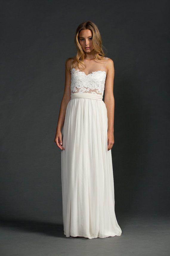 Grace loves lace lace wedding dress от Graceloveslace на Etsy