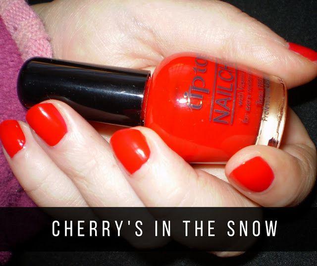 Leah beauty : TIP TOP | CHERRIES IN THE SNOW & MATT-NIFICENT