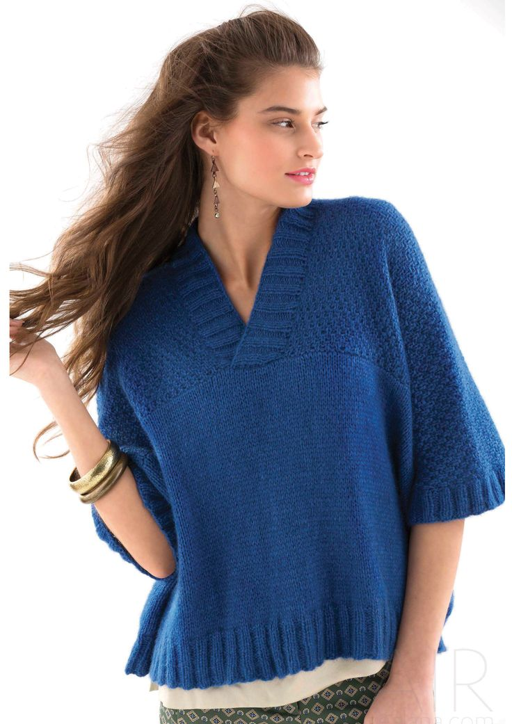 WRAPOVER TOP - Designed by Laura Zukaite, as featured in the Zealana AIR Chunky Pattern Book.