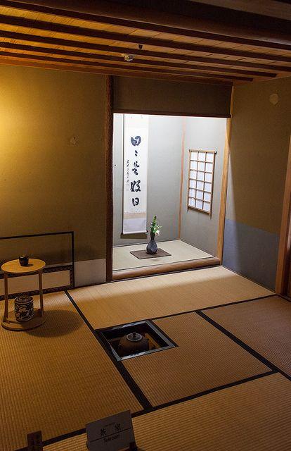 Kanazawa, Tea ceremony room, Japan