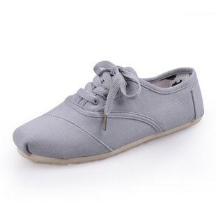 Womens Toms Cordones Shoes Grey