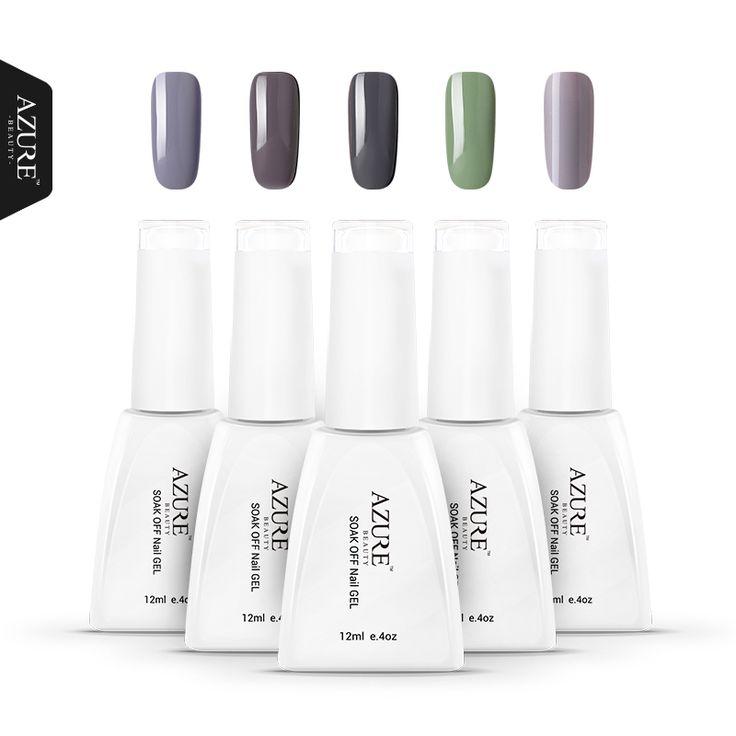 Azure Beauty 50 Degrees Grey Series UV Gel Nail  Gel Polish LED UV Soak off 12ml Gel New Arrival soak off gel polish #clothing,#shoes,#jewelry,#women,#men,#hats,#watches,#belts,#fashion,#style