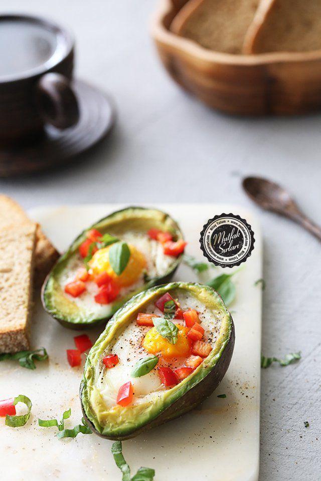 Fırında Avokadolu Yumurta - Tarifin püf noktaları, binlerce yemek tarifi ve daha fazlası...