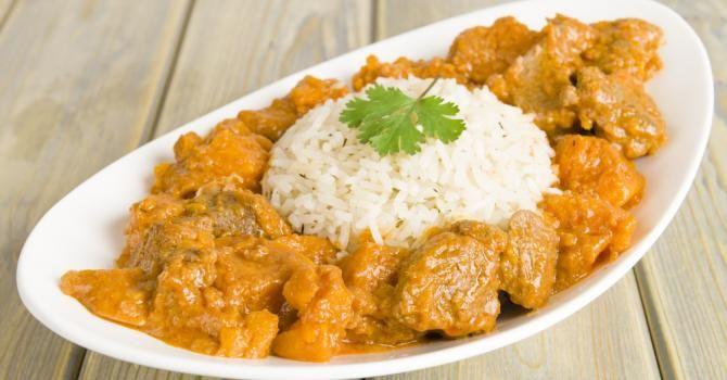 Recette de Curry de dinde au lait de coco.