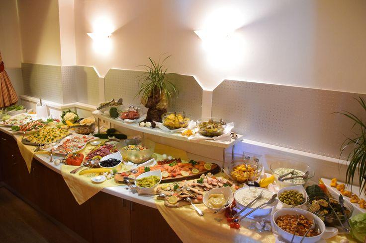 Vorspeisenbuffet im Hotel Almrausch in Bad Kleinkirchheim, Kärnten   www.almrausch.co.at