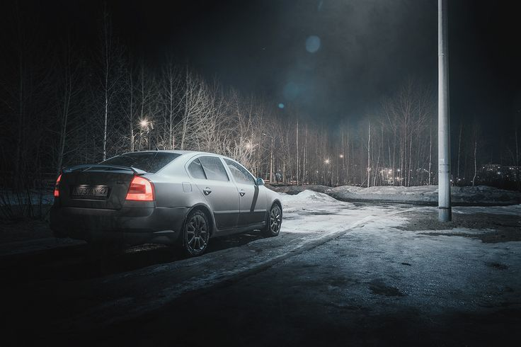 Car pornography — Starring: Skoda Octavia RS by Oleg Sidorov