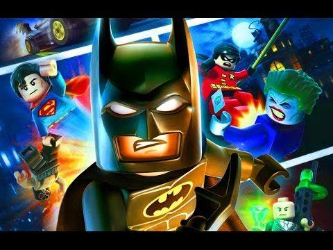 Лего Супергерои Бэтмен Супергерои Игры для детей как Мультики про машинк...