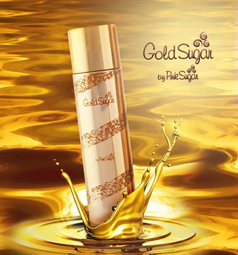 Gold Sugar Aquolina for women - Aquolina announces two new fragrances for 2013 from the line made famous by Pink Sugar perfume. These are the fragrances Gold Sugar and Steel Sugar. Gold Sugar is a floral bouquet enhanced by gourmand notes. It opens with citrus and neroli, with the heart of the crème brule and coconut and the base of Australian sandalwood, musk and creamy accord.