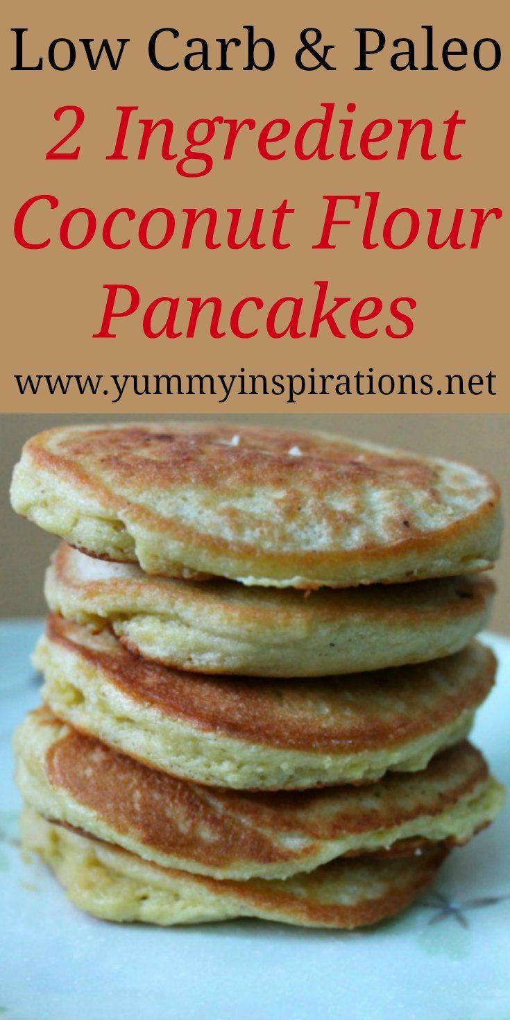 Grain Free Coconut Flour Pancakes Gaps Paleo Recipe Coconut