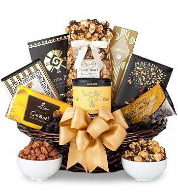 Good As Gold Gourmet Gift Basket