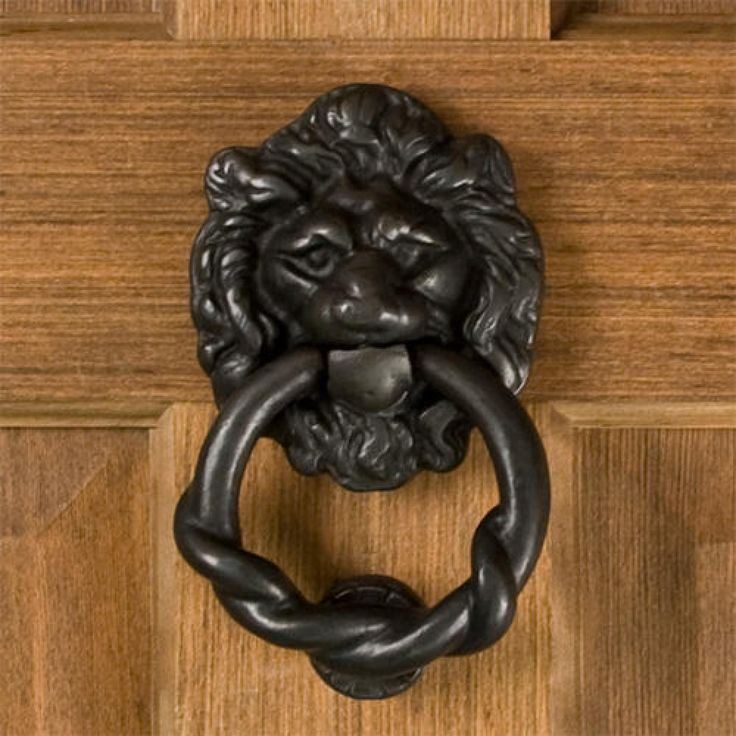 1000 images about hardware on pinterest cabinets bar and brass cabinet hardware - Bronze lion head door knocker ...
