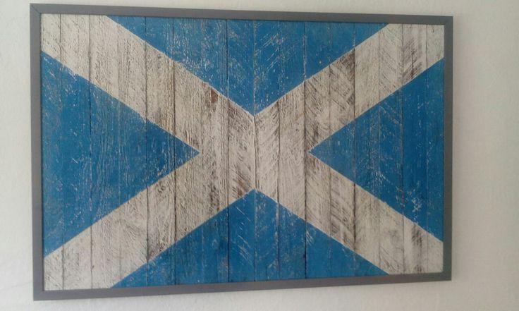 Schottland Flagge Saltire