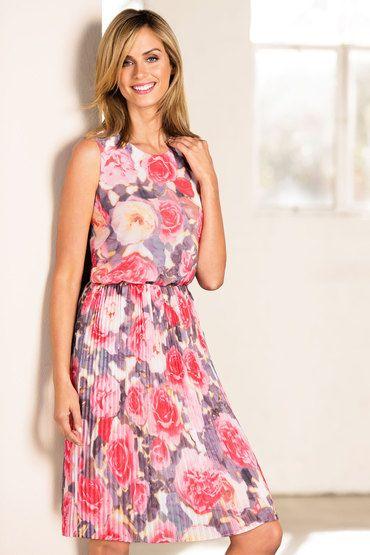Capture Pleated Dress - From EziBuy