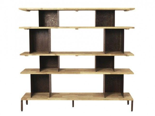 bibliotheque style industriel indus pinterest. Black Bedroom Furniture Sets. Home Design Ideas
