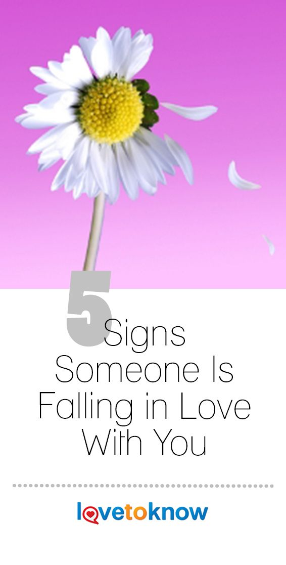 Signs of someone falling in love with you