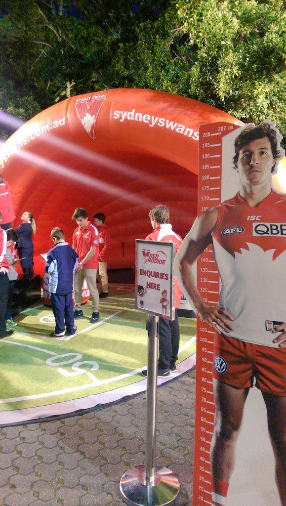 Sydney Swans AFL Fan Zone SCG Pics BY Brad Hiliyard