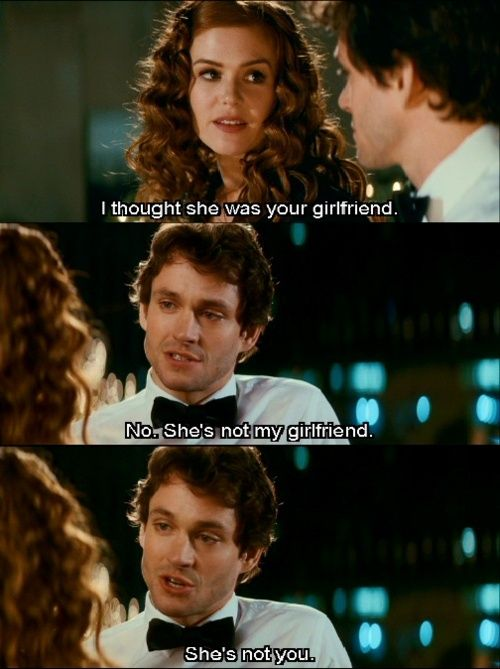 Daaawwwhh... I love this. Plus it's Hugh Dancy. ;)  Confessions of a Shopalolic. <3